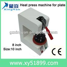 ceramic plate making machine/metal plate printing machine/plate mug printing machine
