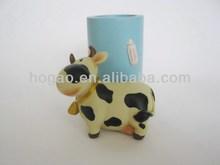 resin cow pen holder