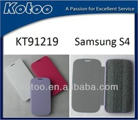 Nice smart case for samsung galaxy i9500 /PU leather cover case for samsung galaxy S4
