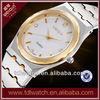 IP gold couple watch stainless steel quartz watch
