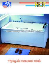 Double-layer whirlpool massage bathtub