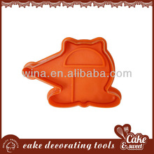 Span Fantasy Plastic Pie Crust Cutters 4 sets