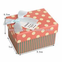 hot sale square oem paper watch box