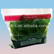 transparent fresh vegetable plastic bags