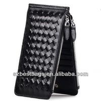 Most popular Lady sheepskin weaving purse