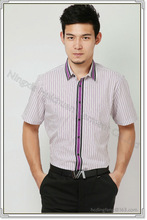men' s formal half sleeve shirt/half sleeve shirt of men's