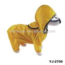 2014 new products fashion dog raincoat(YJ-2706)