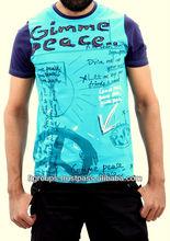 Mens Cotton Printed T-shirt