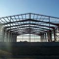 estructura de almacén prefabricado de acero