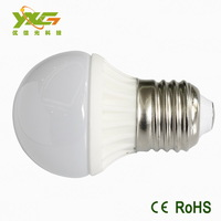 12v 24v 36v e27 3w led ceramic bulbs