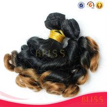 Bliss funmi hair yiwu factory, nigeria 8a ombre funmi hair