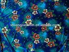 2014 New design KS korea velvet printed gilding fabric,four way stretch velvet,high-class fashion velvet garment 1st