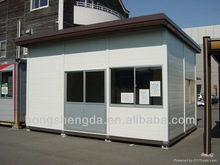 Cheap prefab outdoor kiosks / booths / guard houses made in China