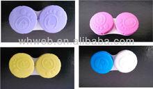 cheap cotact lens double case/wholesale contact lens double case for color contact lens