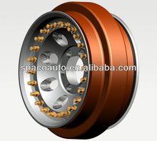 Different desigh aluminum wheels 22.5