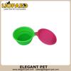 colourful foldable silicone dog bowl 40099,silicone travel pet bowl