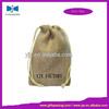China factory drawstring gift hessian bag