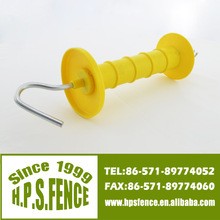 Hangzhou Farm Electric Fence With Spring Plastic Wooden Post Gate Handle