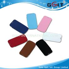 TPU+PU Fancy Flip cover for galaxy S4 mini,I9190