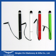 Small Stylus Touch Pen with Earphone Plug for Smartphone (VIP029)