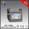 Gel bateria inversor sonnenschein a512/115 uma baterias enersys nga5120115hsoca 12vbateria para carro de brinquedo