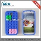 Block silicon case fo samsung s4, for samsung s4 silicon case