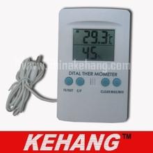 Digital grande exterior termómetro