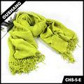 Señora chs-5-e retro de punto bufanda personalizada de tejer visón chal de piel