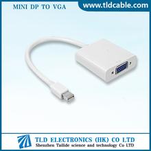 Mini DP Male to VGA Female Cable
