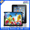 China manufacturer wholesale 3d animal case for ipad 3