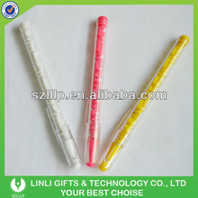 Advertisement Logo Plastic Maze Pen