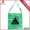 Custom design heavy duty resealable plastic bag