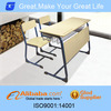 Modern hot sale combo shool desk and chair