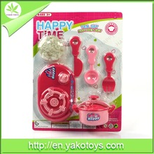 durable and suitable for children pp material kitchen toy set with EN71