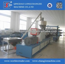 Highly technological cost-effective pvc plate extrusion line with CE certificate