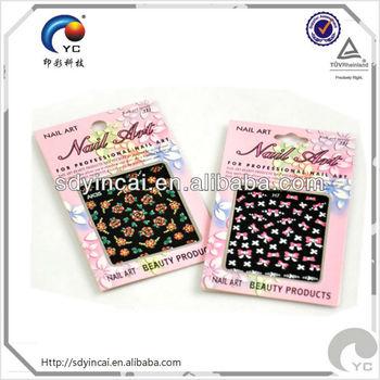 nail polish stickers gel nail sticker wholesale