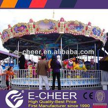 Latest Children and adult Amusement Park Products amusement park equipment rides Carousel/mini carousel ride for sale