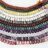Wholesale Natural Gemstone Roundel Beads