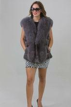 Sapphire Saga Fox & Mink Fur Vest