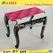 customized acrylic wicker rattan furniture/POP acrylic wicker rattan furniture