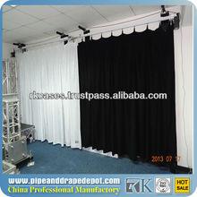 Motorizado estágio cortinas 6m~30m, cortinas do palco para venda, black estágio cortinas