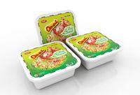 """""""Omni"""" Lemon Shrimp Flavor Instant Noodles (Square Bowl)"""
