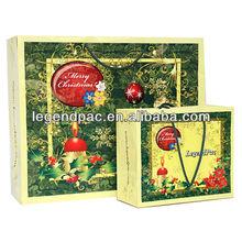 Luxury custom logo printed paper packaging bags wholesale