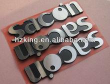 Metal furniture emblem