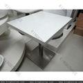 Qualidade superior personalizado mesas e cadeiras/sintético mesas de mármore