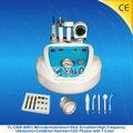 ( yl- 709) dermabraasion 4in1 microdermabrasión facial peeling de diamantes de la máquina