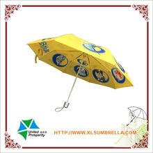 dog and cat aluminium high quality 3 fold umbrella
