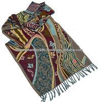 aztec wool pashmina schals