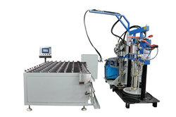 good price hollow glass automatic sealant spreader machine