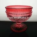 2013 caliente venta de vidrio de cristal helado copas taza de color rosa